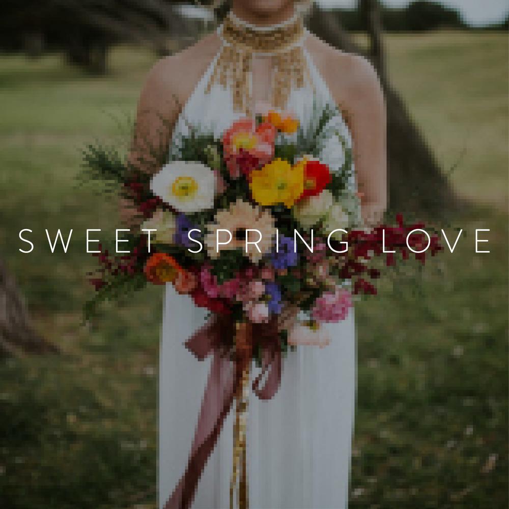 sweet spring love