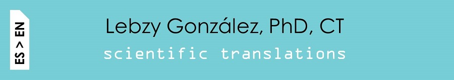 Lebzy González Scientific Translations