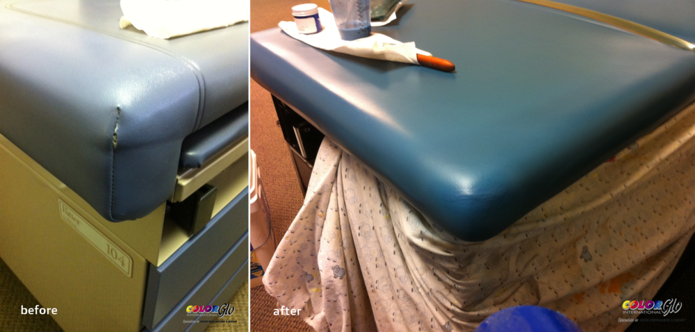 Medical Vinyl Restoration by Color Glo International