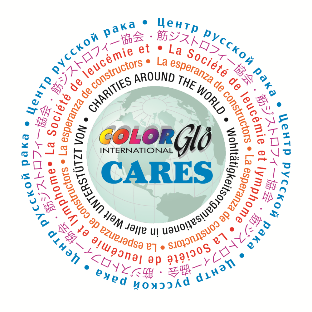 Color Glo Cares Community Logo