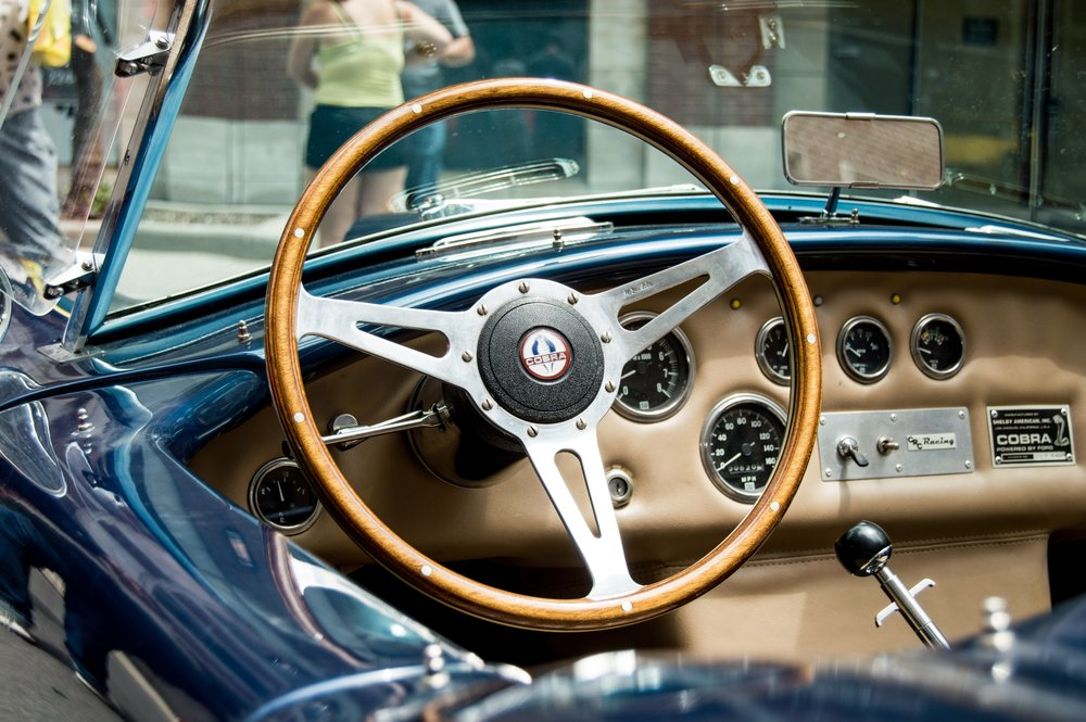 Some classics may have wooden steering wheels.
