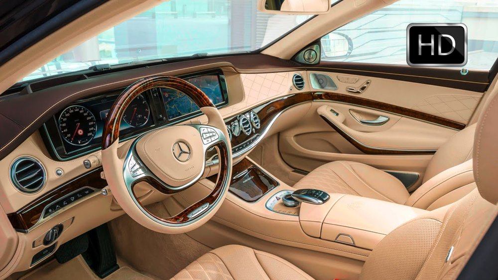 Merceds Benz Interior Wood Trim