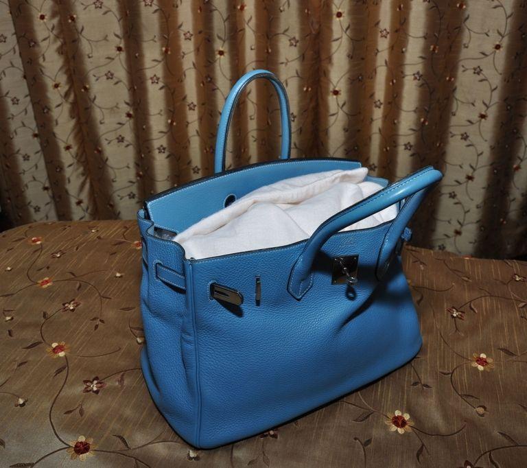 Keep your handbag stuff when not using it. Photo: Handbag Clinic