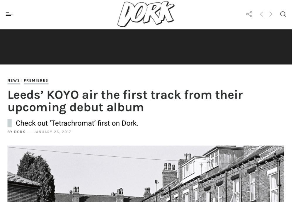 Dork Premiere Tetrachromat — Koyo