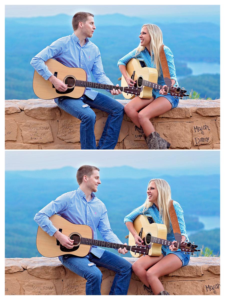 Guitar Engagement photo