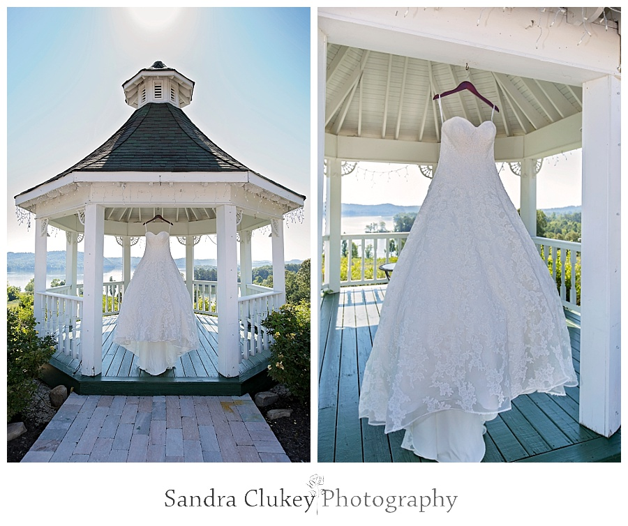 Gazebo Wedding Gown