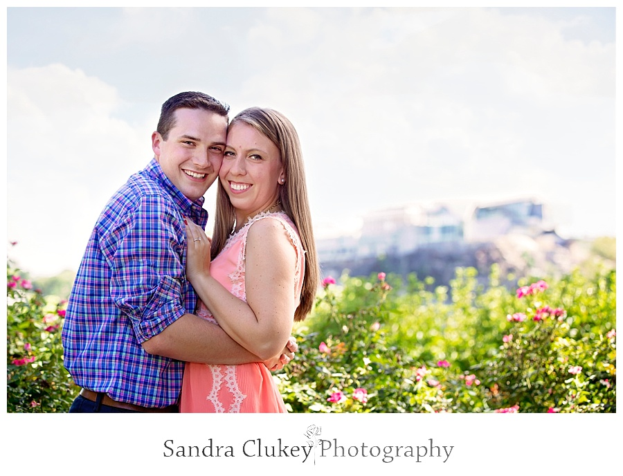 Tennessee Couple Portrait Coolidge Park