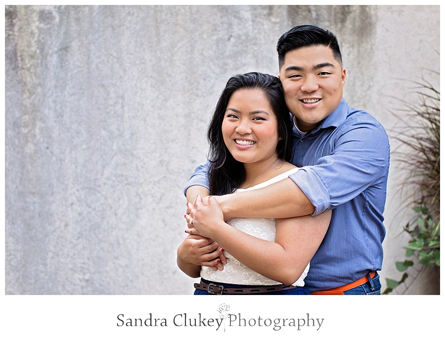 Philadephia, PA Engagement Shoot in Center Philly, Love Park, and Spruce Street Park  #CenterPhilly #SpruceStreetPark #LovePark   © Sandra Clukey Photography  http://www.sandraclukeyphotography.com/