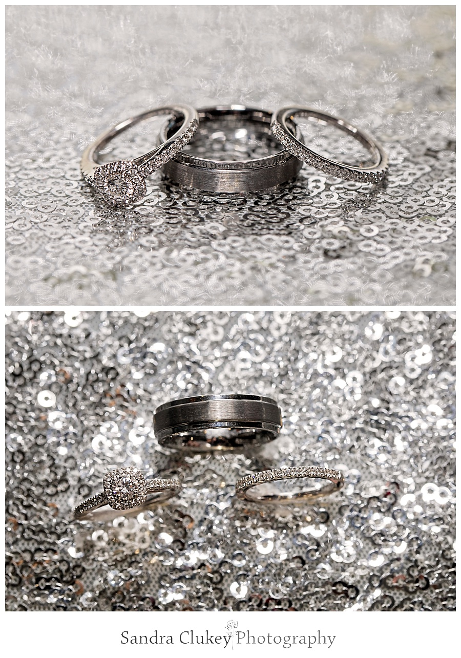 Exquisite wedding ring set