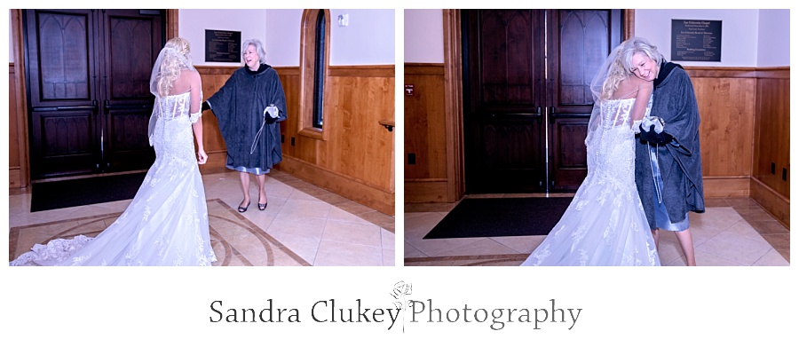 Bride sees grandmother