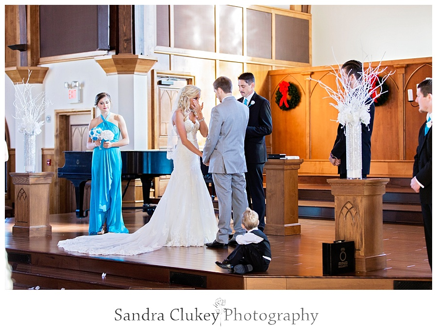 Wedding Ceremony at Lee University Chapel