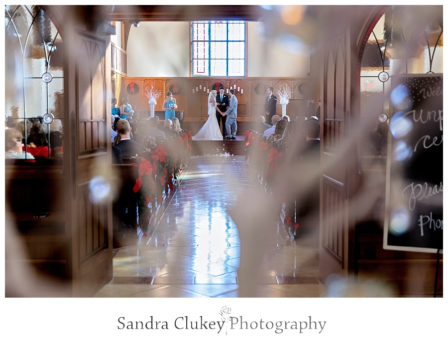 Lee University Chapel wedding