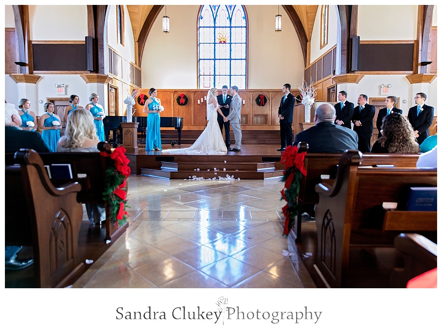 Wedding at Lee University Chapel