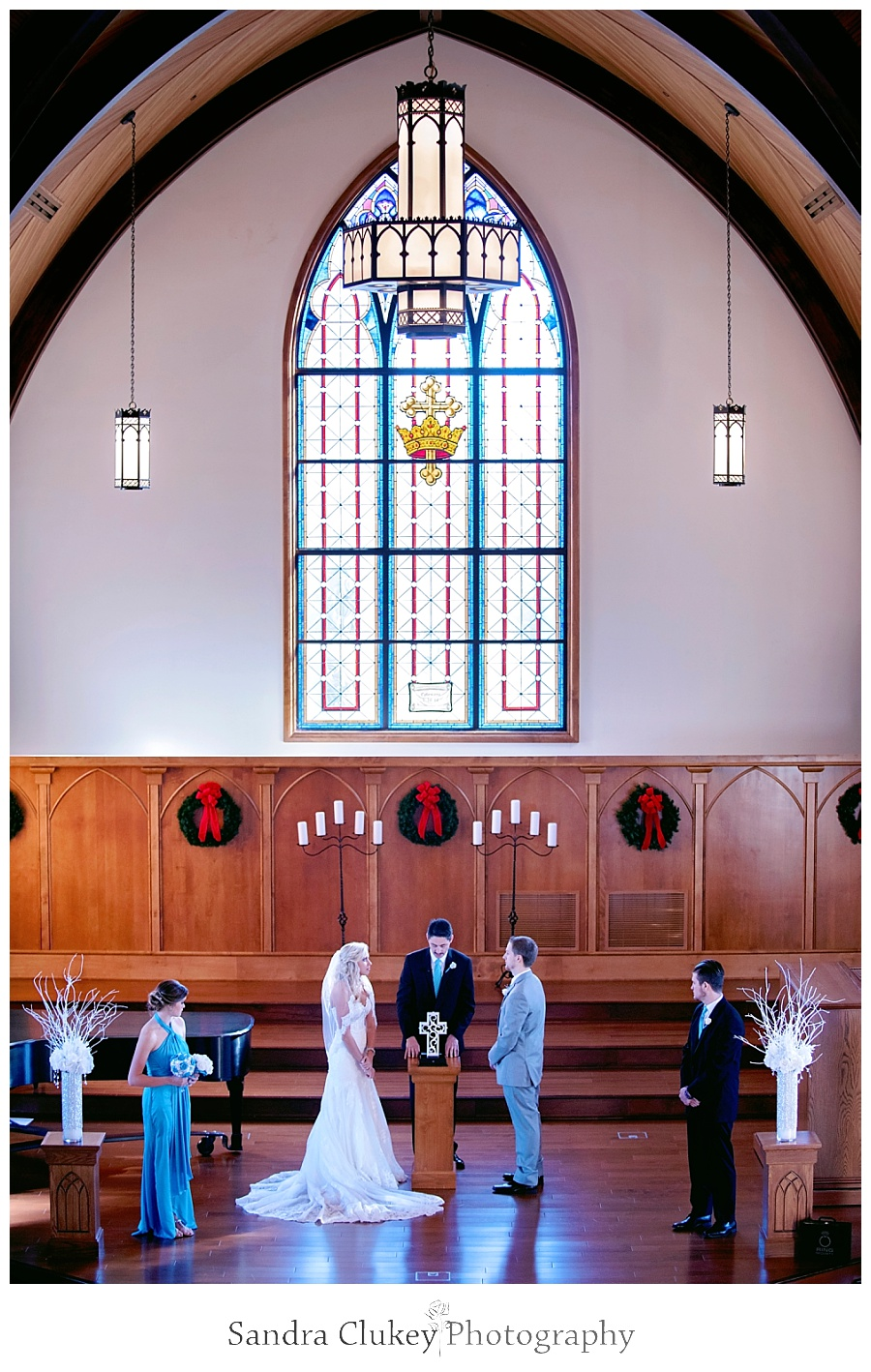 Cleveland, TN wedding at Lee University Chapel
