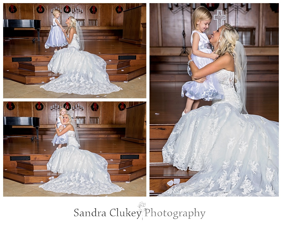 Stunning Bride with Niece