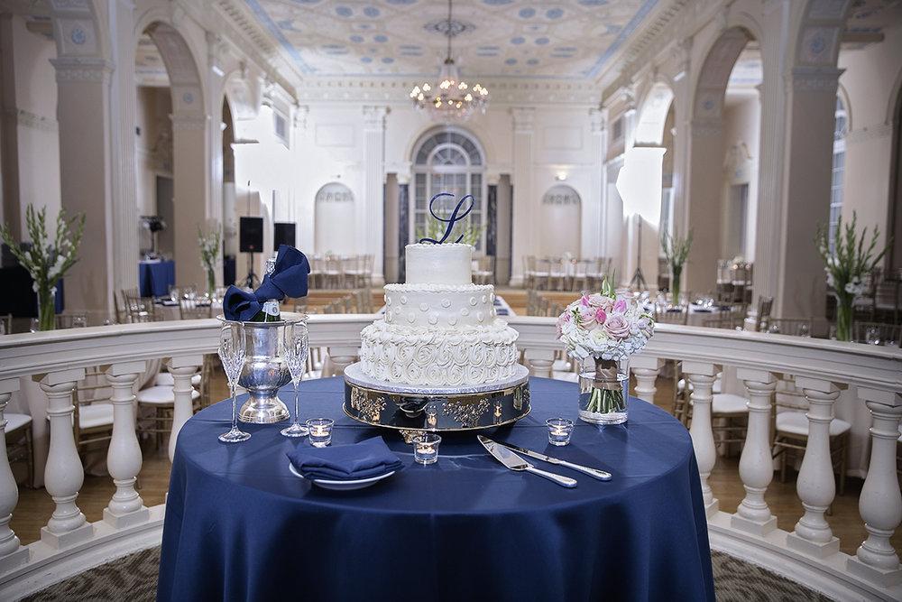 Elegant Wedding Cake Biltmore Hotel Atlanta GA