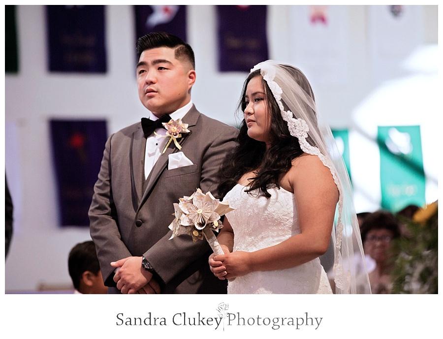Wedding begins