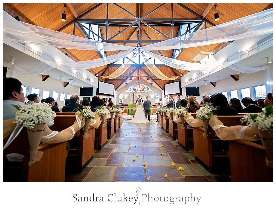 Gorgeous church setting