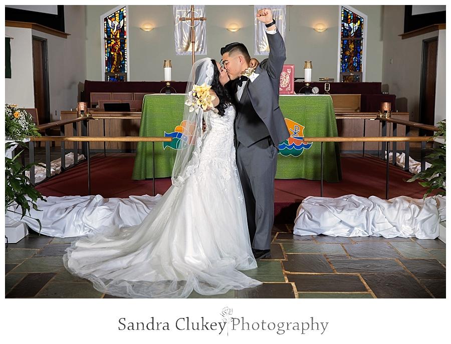 Aroused couple celebrate