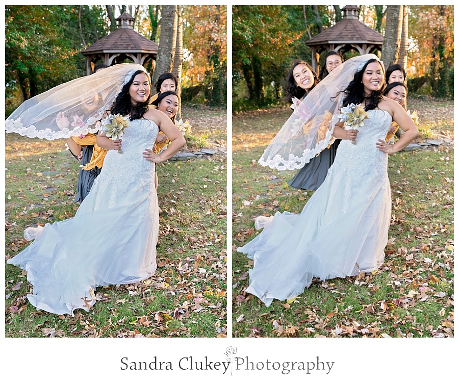 Fun for the bride and her girls