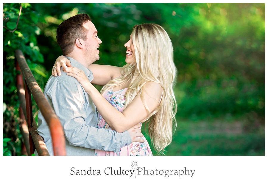 Jubilant couple picture