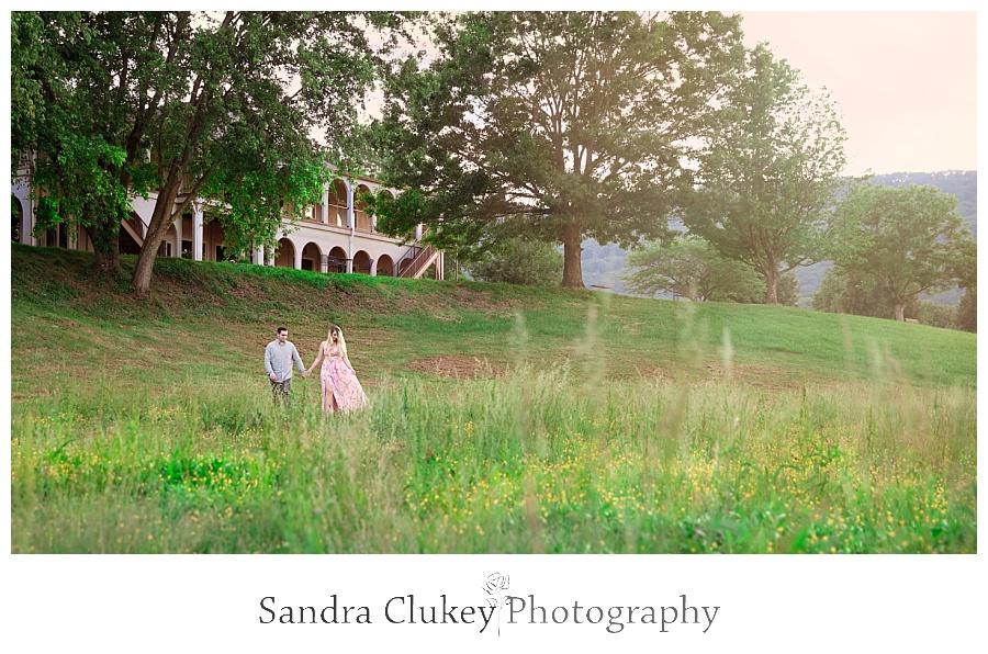 Quiet solitude by the wedding venue