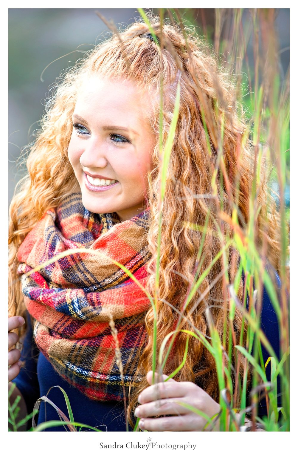 Natural beauty on this senior shoot