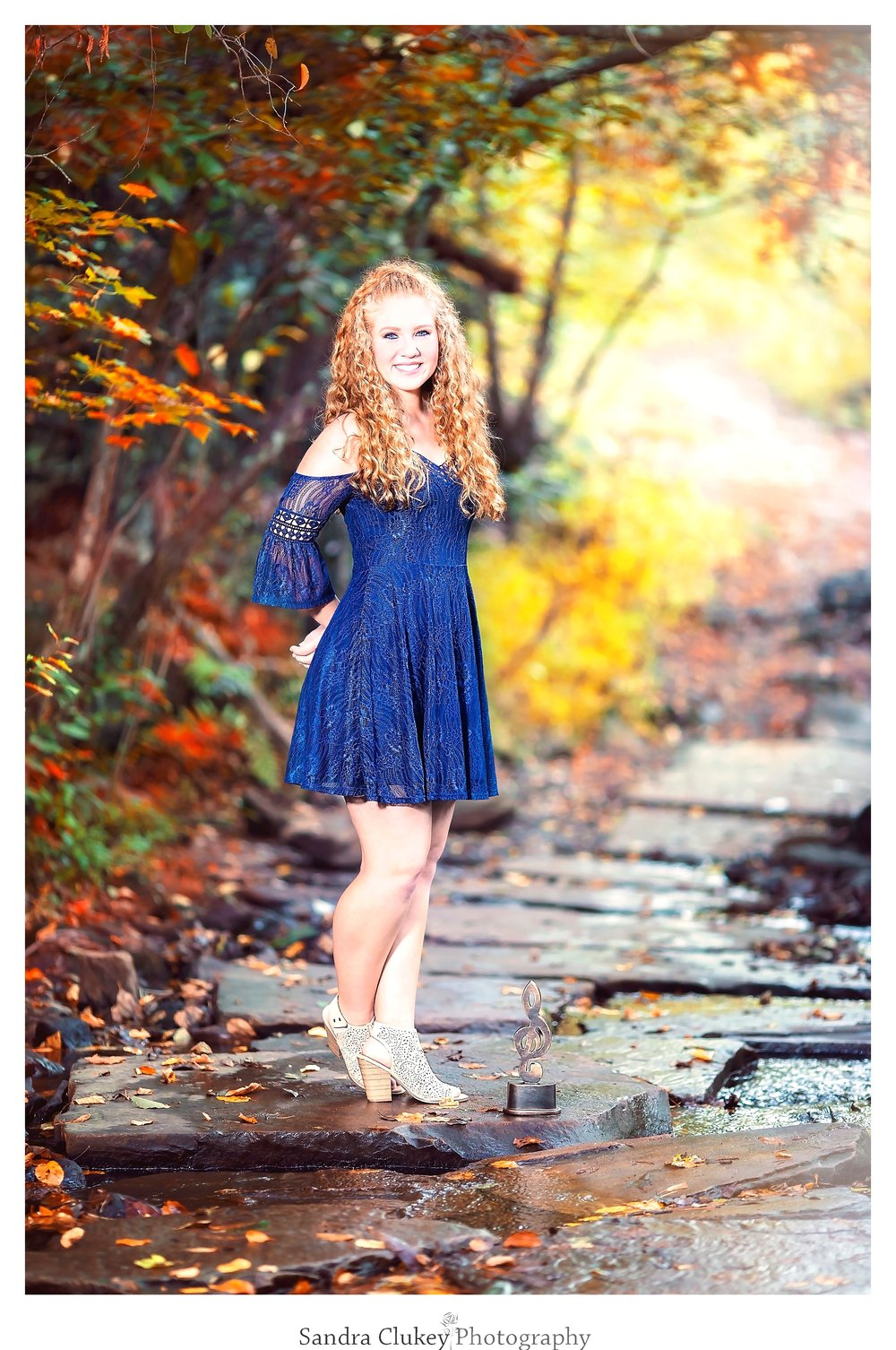 Talented senior shows her passion
