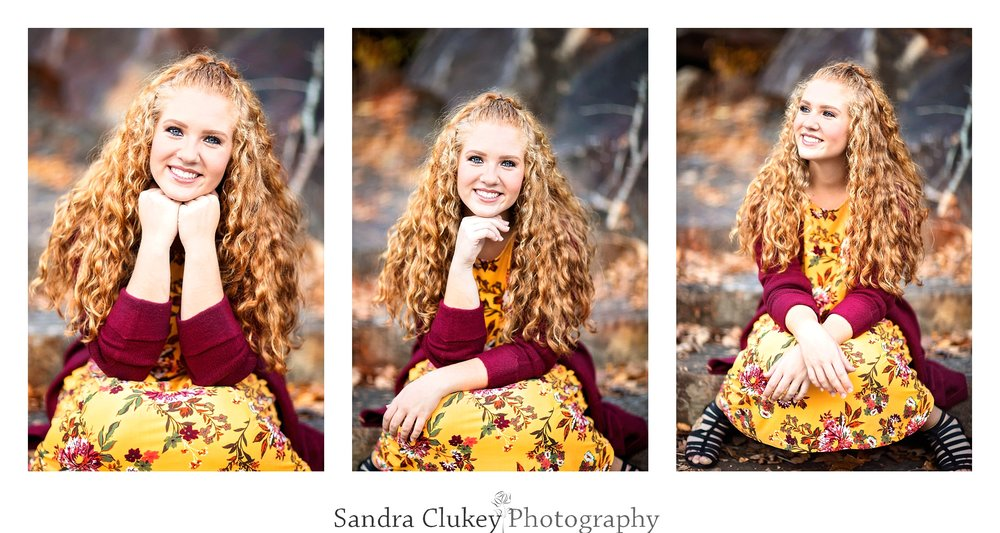 Bright and beautiful senior
