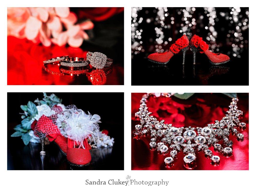 Spectacular bridal details taken at Lee University Chapel, Cleveland TN