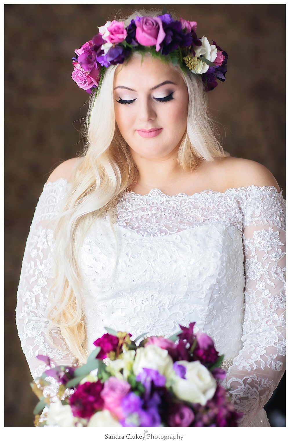 Bride at Old Woolen Mill, Cleveland TN