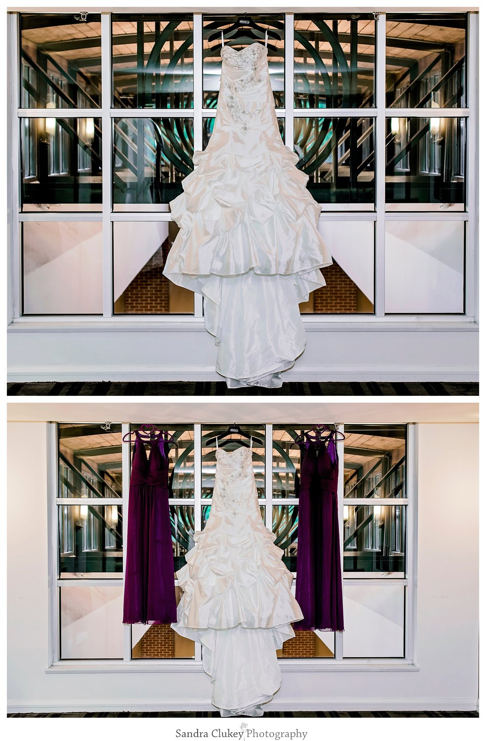 Wedding Gown at Chattanoogan Hotel