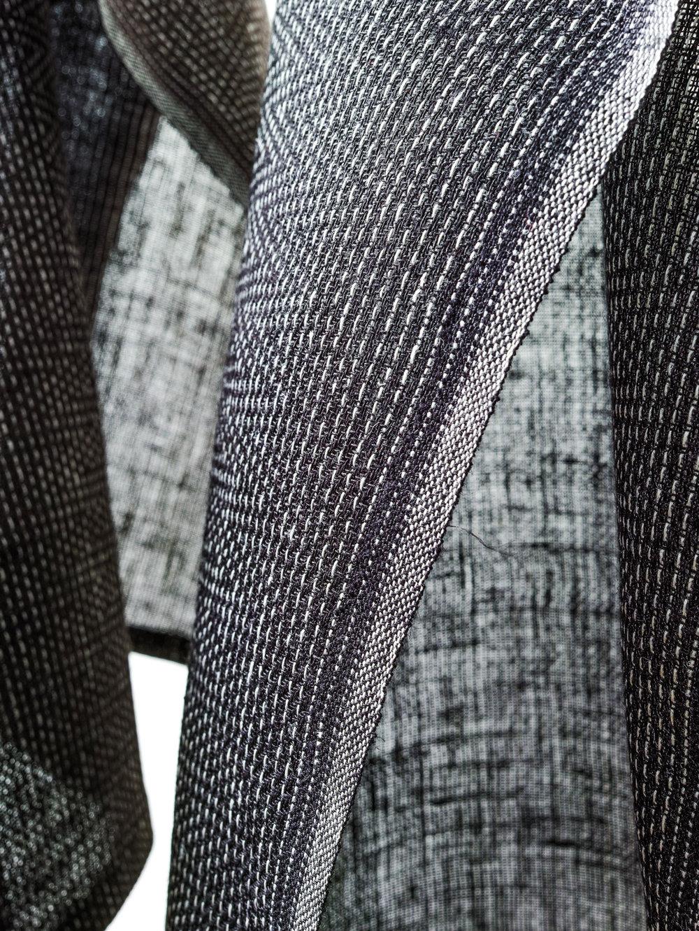 Karin Carlander - TEXTILE NO. Zigzag Design - Natural Linen