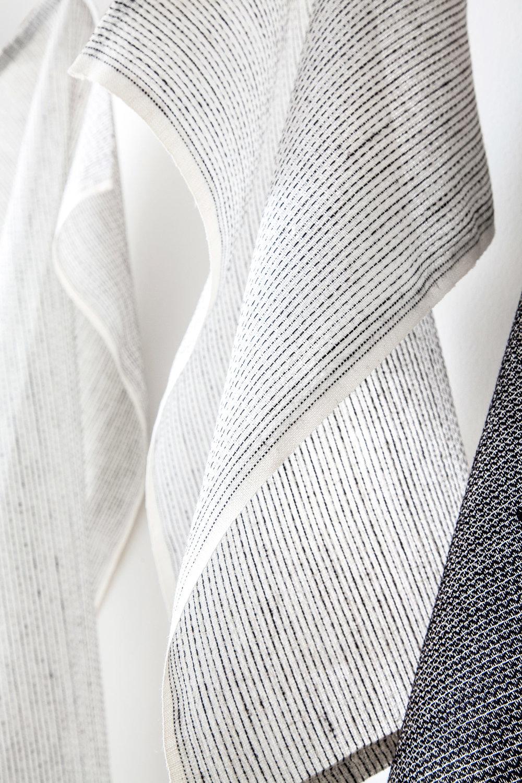 Karin Carlander TEXTILE NO. 4 - TEA TOWEL - Sashiko Design