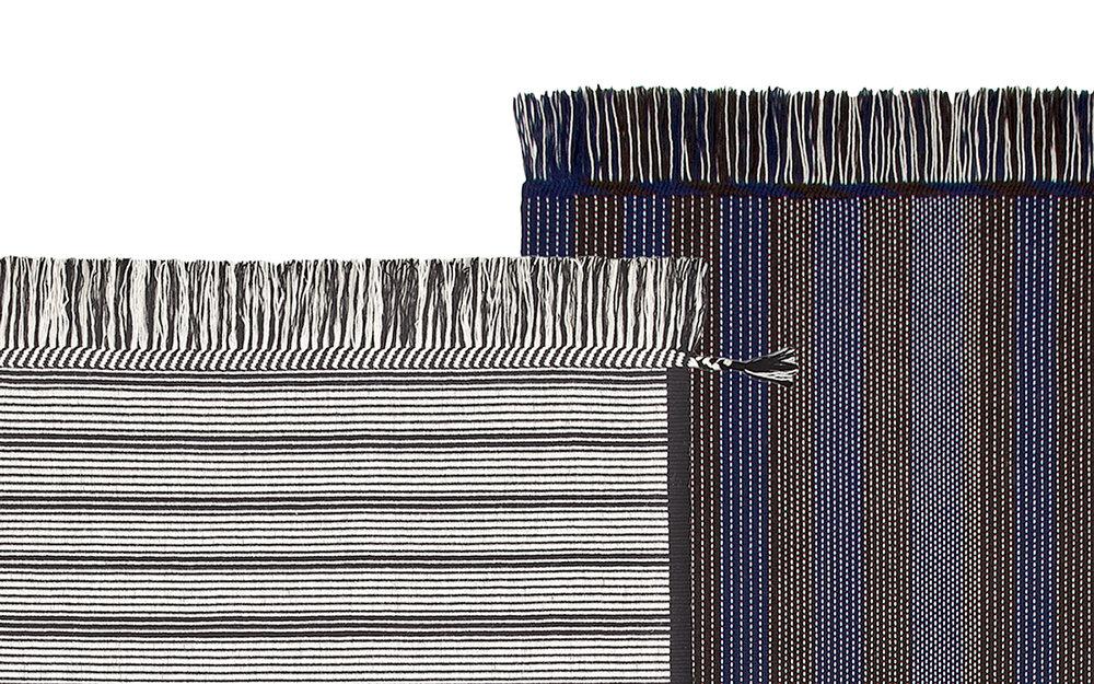 Rugs by weaver Karin Carlander