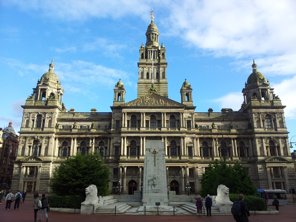 The spectacular Glasgow City Chambers were the site of the 2012 Annual General Meeting of Positive Action in Housing.