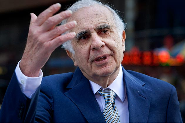 Photo of Carl Icahn in 2012 taken by Scott Eells/Bloomberg