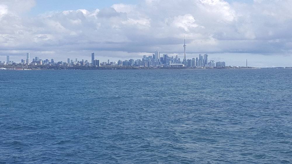 Downtown Toronto from Humber Bay Park.