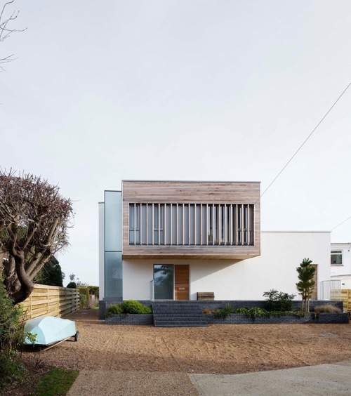 Contemporary new dwelling in hayling island