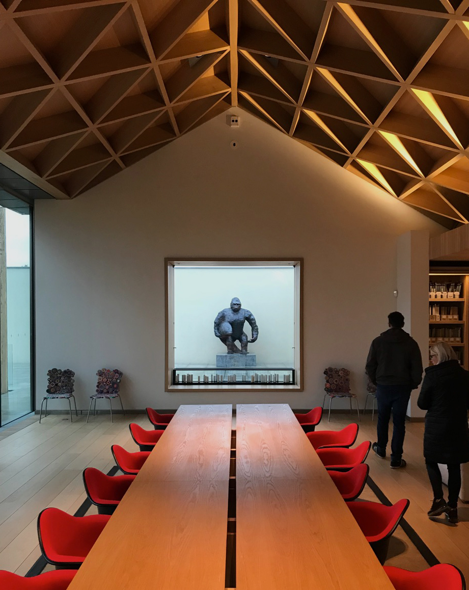 Waddesdon Hill Archive by Stephen Marshall Architects