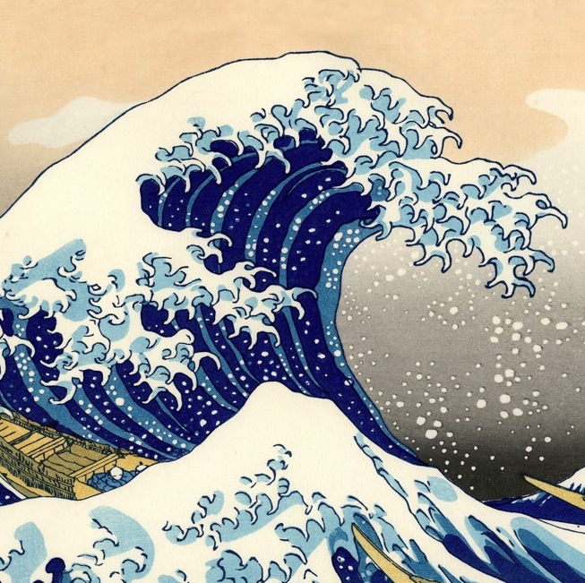 A great wave can carry us far