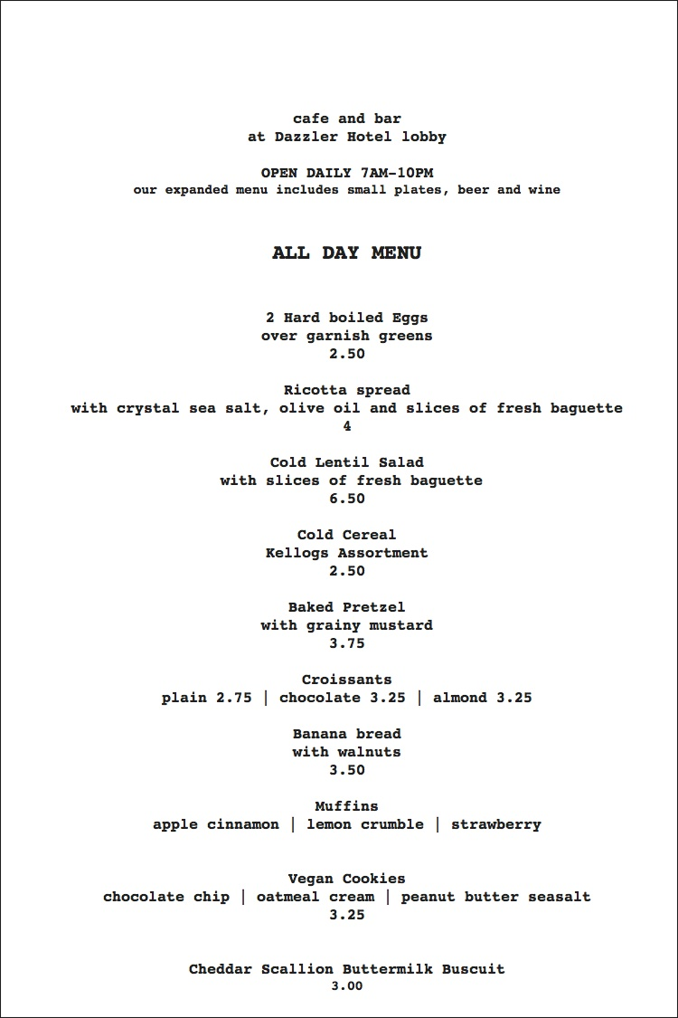 menu u2014 msao