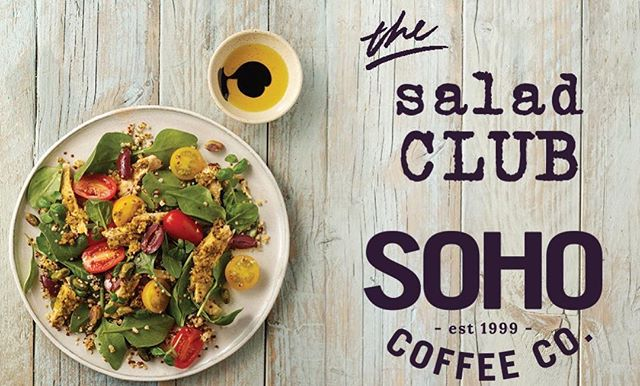 #JoinTheClub Our new salad club has now launched in stores. Buy 4 salads & get #5 on us! 🥗💚