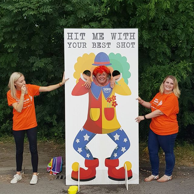 What happens when our MD takes one for the team and puts herself in the stocks! All in the name of fundraising!!🧡🍊🧡