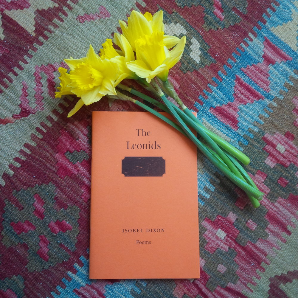 Nasturtium tones and poems for my mother, and daffodils, real and written, for my father.