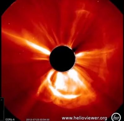 2012 Coronal Mass Ejection (solar superstorm)