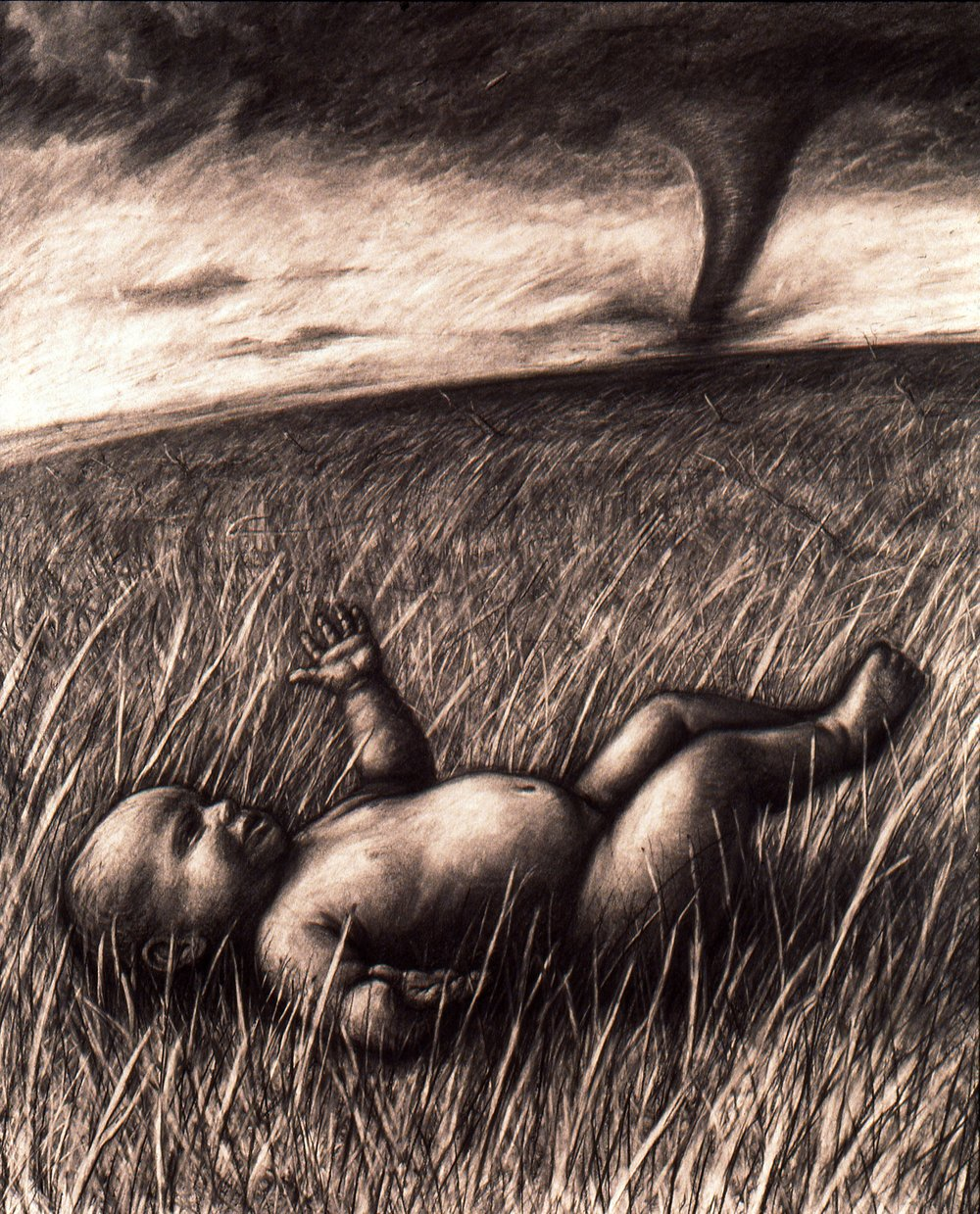 Faith    Charcoal on paper      1993