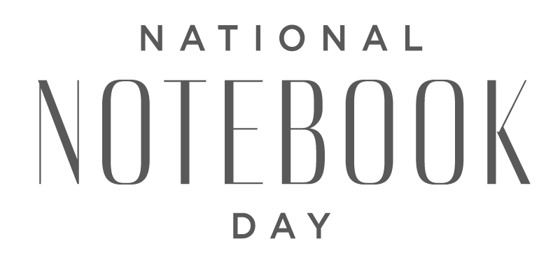National Notebook Day - May 16th, 2019