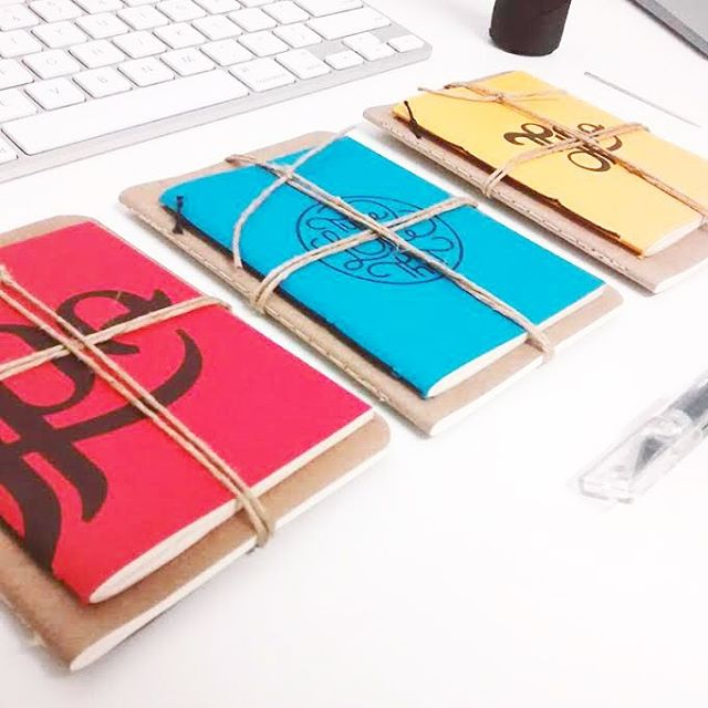 We love that @typelikethat is using #NationalNotebookDay as a platform to launch his new brand! His notebooks are 100% handcrafted and we absolutely love that. Go check out his work! 📚