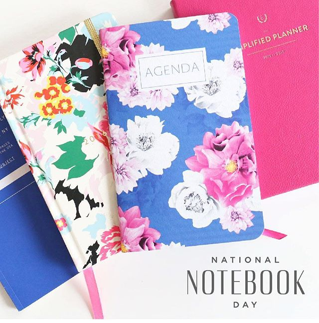 Can you believe it?! The second-ever #NationalNotebookDay is here TOMORROW, Thursday, May 18th, 2017! 🙌 Stay tuned on Instagram and NationalNotebookDay.com for an exciting $500+ sweepstakes giveaway of prizes from our favorite notebook brands! You notebook lovers, who's ready to celebrate?! 🎉💃🎊 • link in bio •